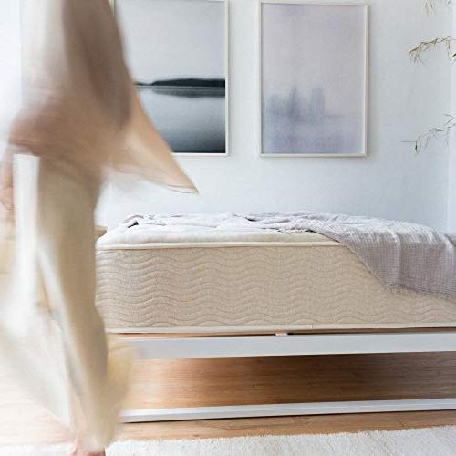 Mínimo 12 Metal Bed Frame, Mattress Bed, Wood Slat No