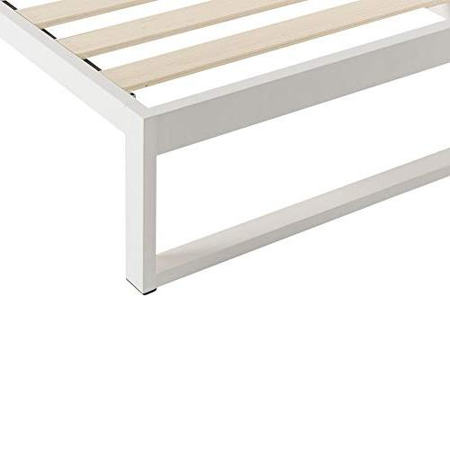 Mínimo 12 Metal Bed Frame, Mattress Bed, Slat Support, No Boxspring Needed