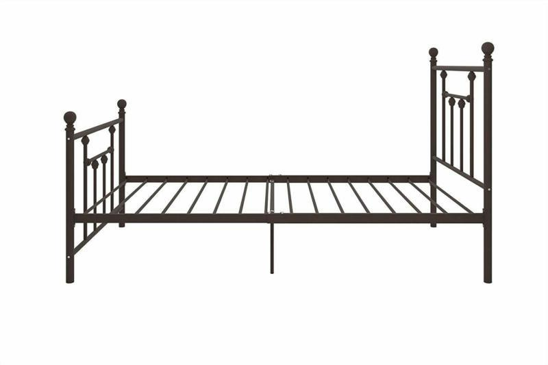 DHP Bed with Victorian Style and Footboard,