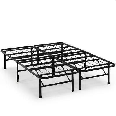 steel platform bed frame metal foldable 13