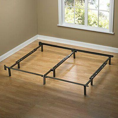 Bedroom Decor Full King Size furniture Adjustable Steel Bed