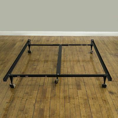 Metal Bed Frame Rails Twin Mattress
