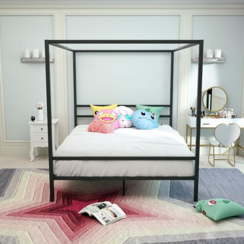 metal bed frame platform