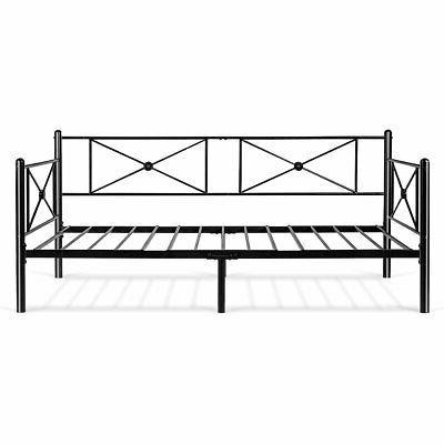 Metal Daybed Frame Steel Platform Bed Sofa LivingRoom