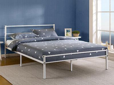 Zinus Metal Platform Bed Frame With Headboard And Footboard Premium King Size Home Garden Beds Bed Frames