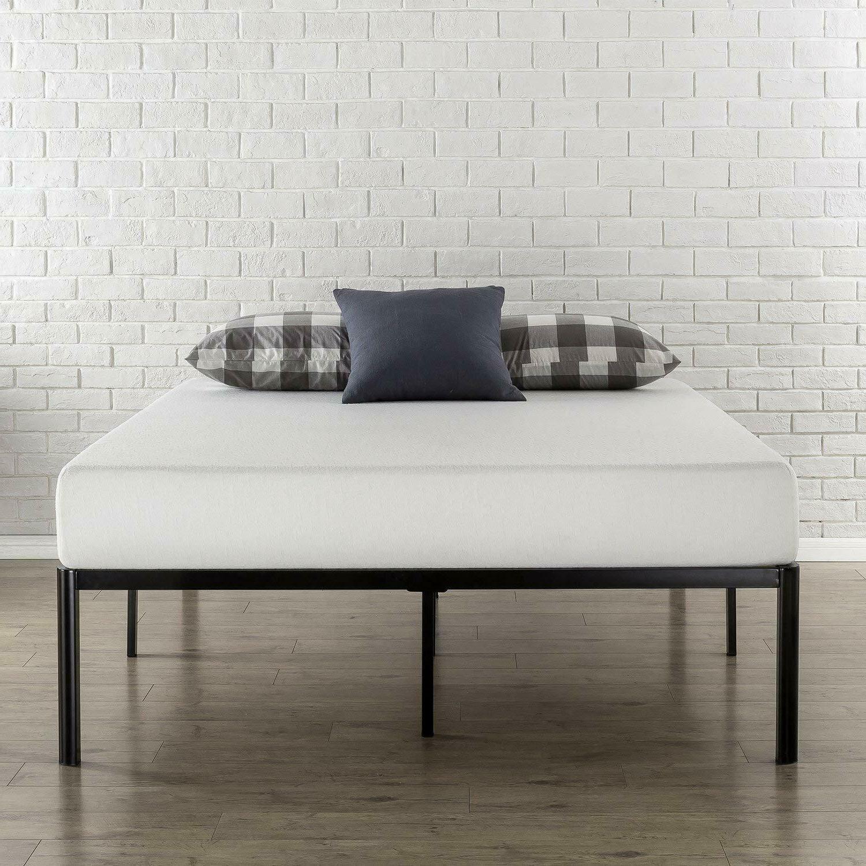 Zinus Van Metal Platform Bed Frame, Steel Slat Support / M