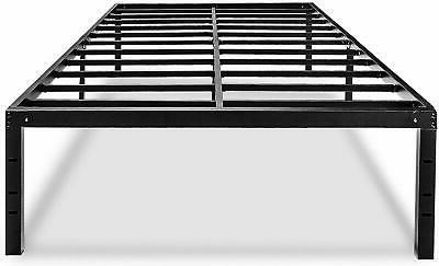 metal platform king bed frame 18 inch