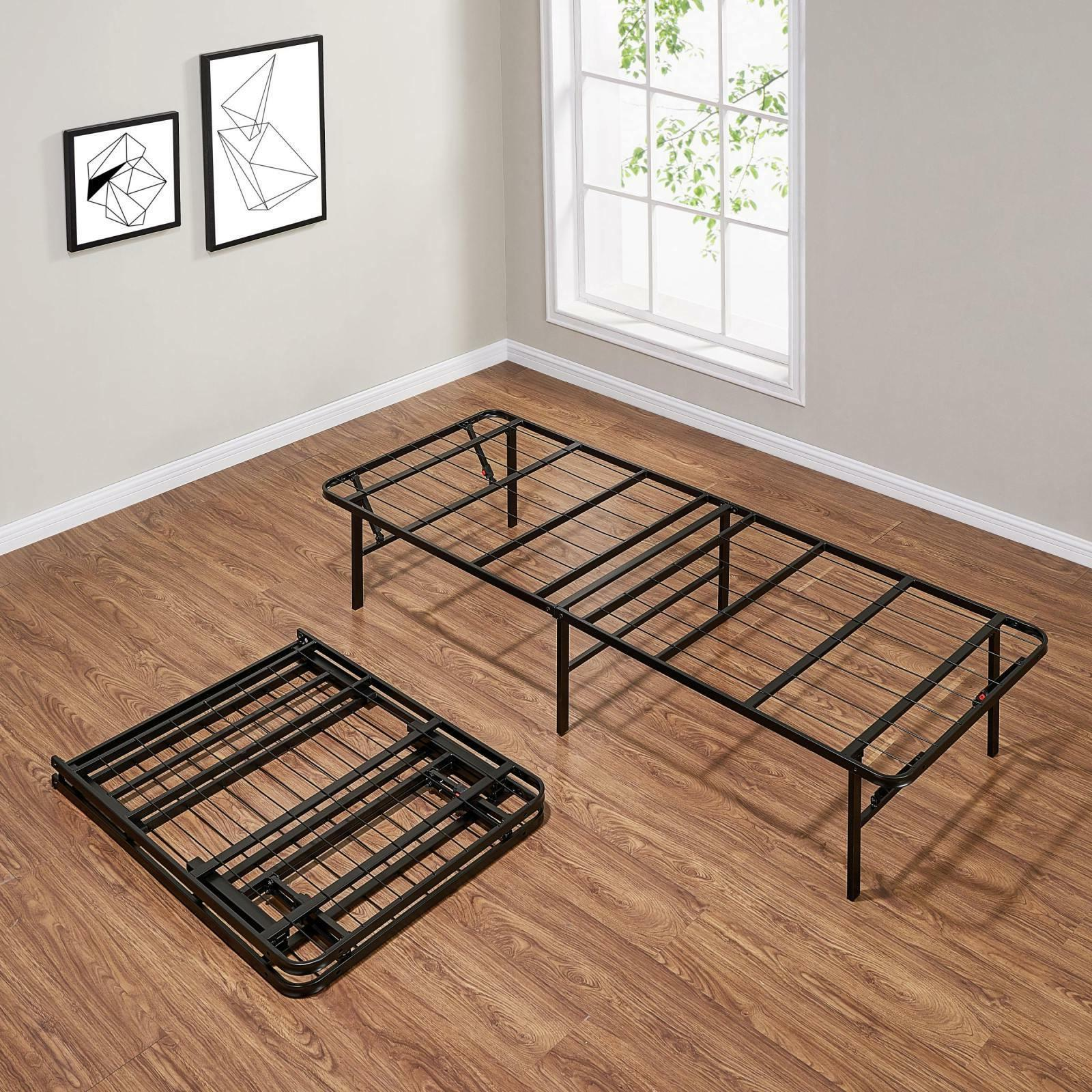 Queen Foldable Bed Foundation High Heavy