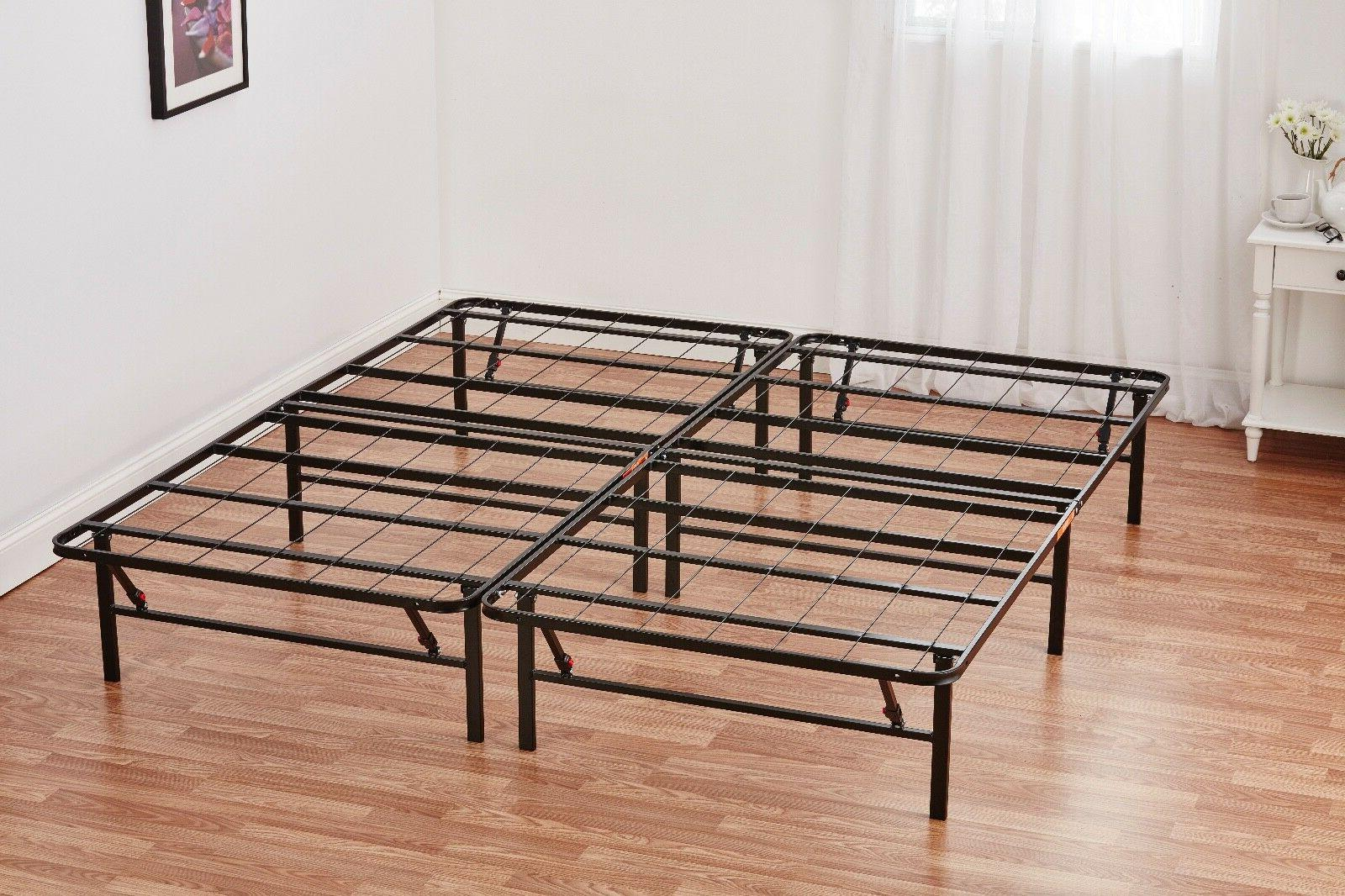 Queen size Steel Foldable Frame Mattress Foundation