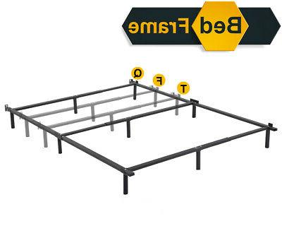 bed frame spring queen folding