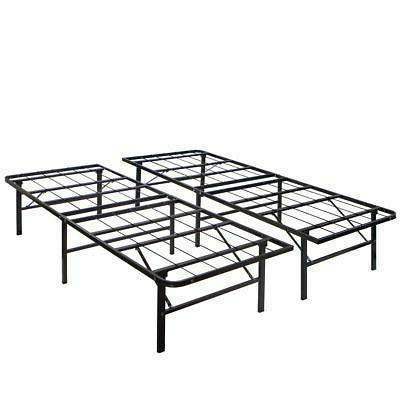 Modern Full Size Frame Mattress Foundation