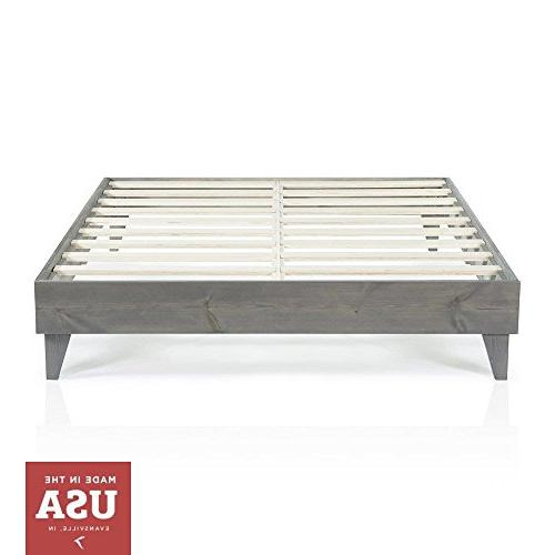 modern twin platform bed frame