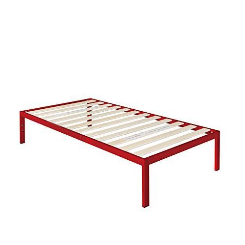 Zinus Modern Studio Inch Metal Bed Frame / needed / Wooden Support Good Award Winner, Twin