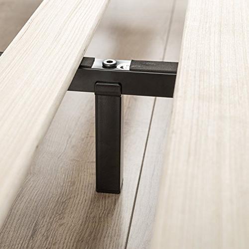 Zinus Joseph Modern Studio 6 Inch Profile Bed Frame Mattress Spring Optional /