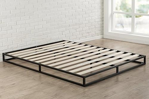 Zinus Joseph Modern Studio 6 Platforma Low Profile Bed Mattress / Box Slat