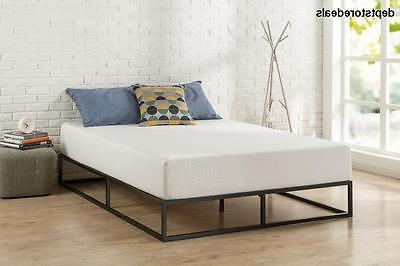 Zinus Modern Studio 6 Profile Bed Mattress / Spring / Wood Slat