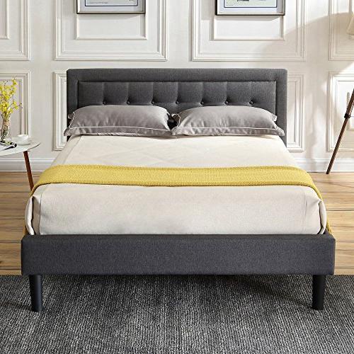 mornington upholstered platform bed headboard