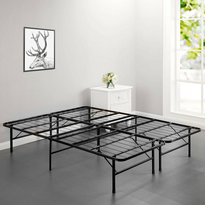New Folding Platform Metal Bed Mattress Foundation