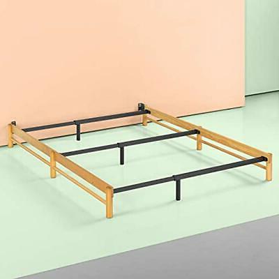 Newport Adjustable Wood Compack Bed Frame, Full To King Kitc