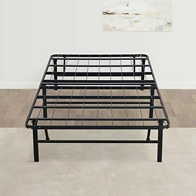 14 Inch Foldable Dura Metal Platform Bed Frame Twin Size Com