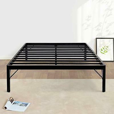 Olee Sleep 14Inch Dura Metal Steel Slate Bed Frame - S3500 K