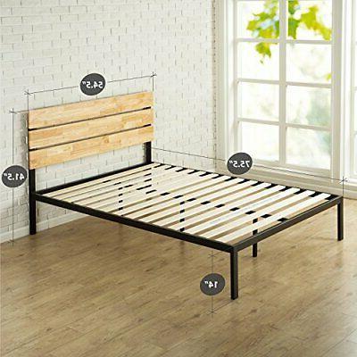 Platform Bed with Slat