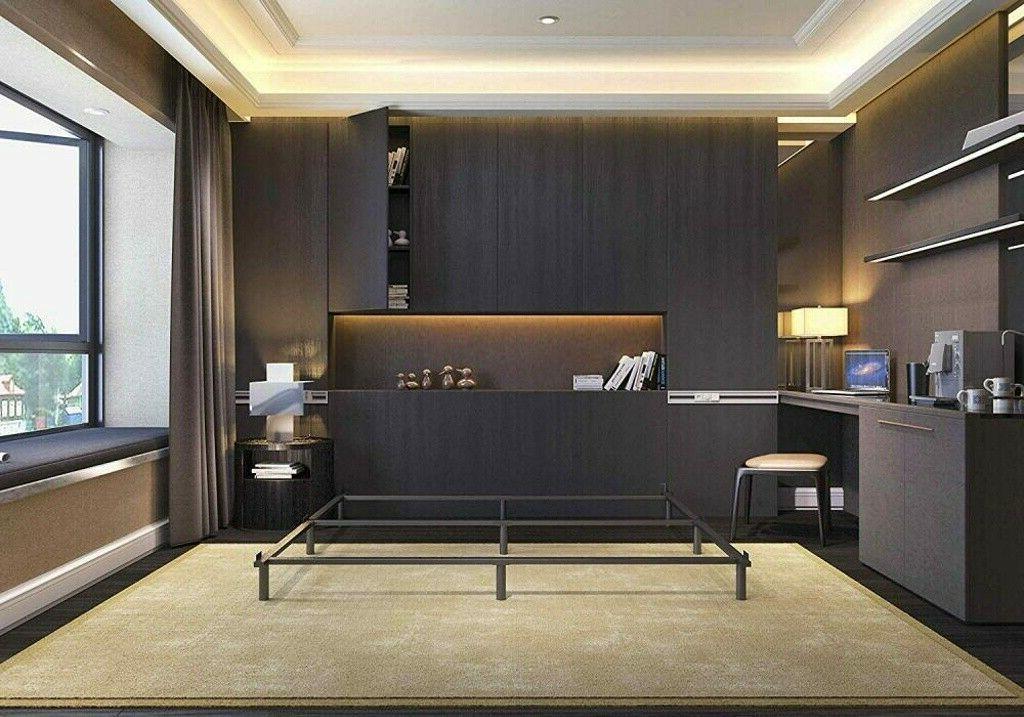 7 Inch High Heavy Duty Steel Platform Bed Frame Twin Full Ki