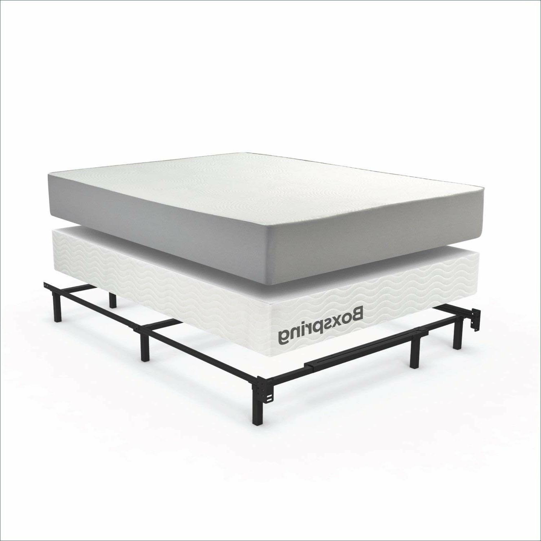Platform Frame Full Size Mattress Foundation Base Bedroom