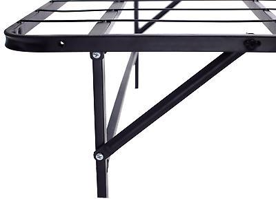 """""""Platform Bed Frame Smart Base Foundation Inch Full Size"""
