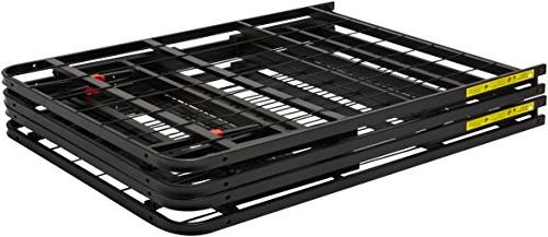 AmazonBasics Platform Bed - Foldable, Under-Bed Storage, No Required King
