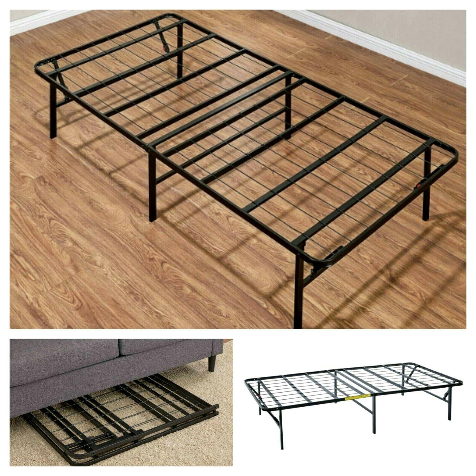 platform full size bed frame 14 inch