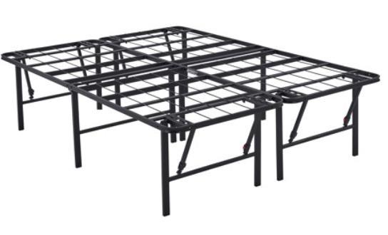 platform full size bed frame 18 inch