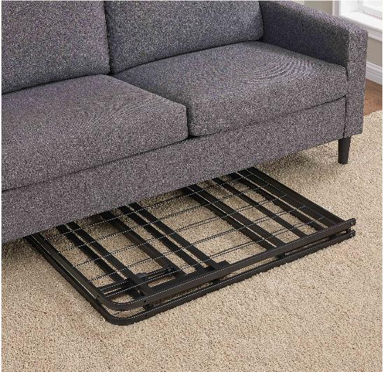 Platform Twin Bed Frame 14 Inch Mattress Foldable Metal Steel