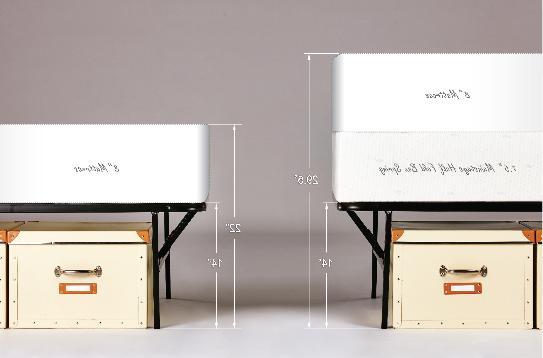 Platform XL Bed Frame 14 Inch Mattress Foldable Metal Steel Heavy
