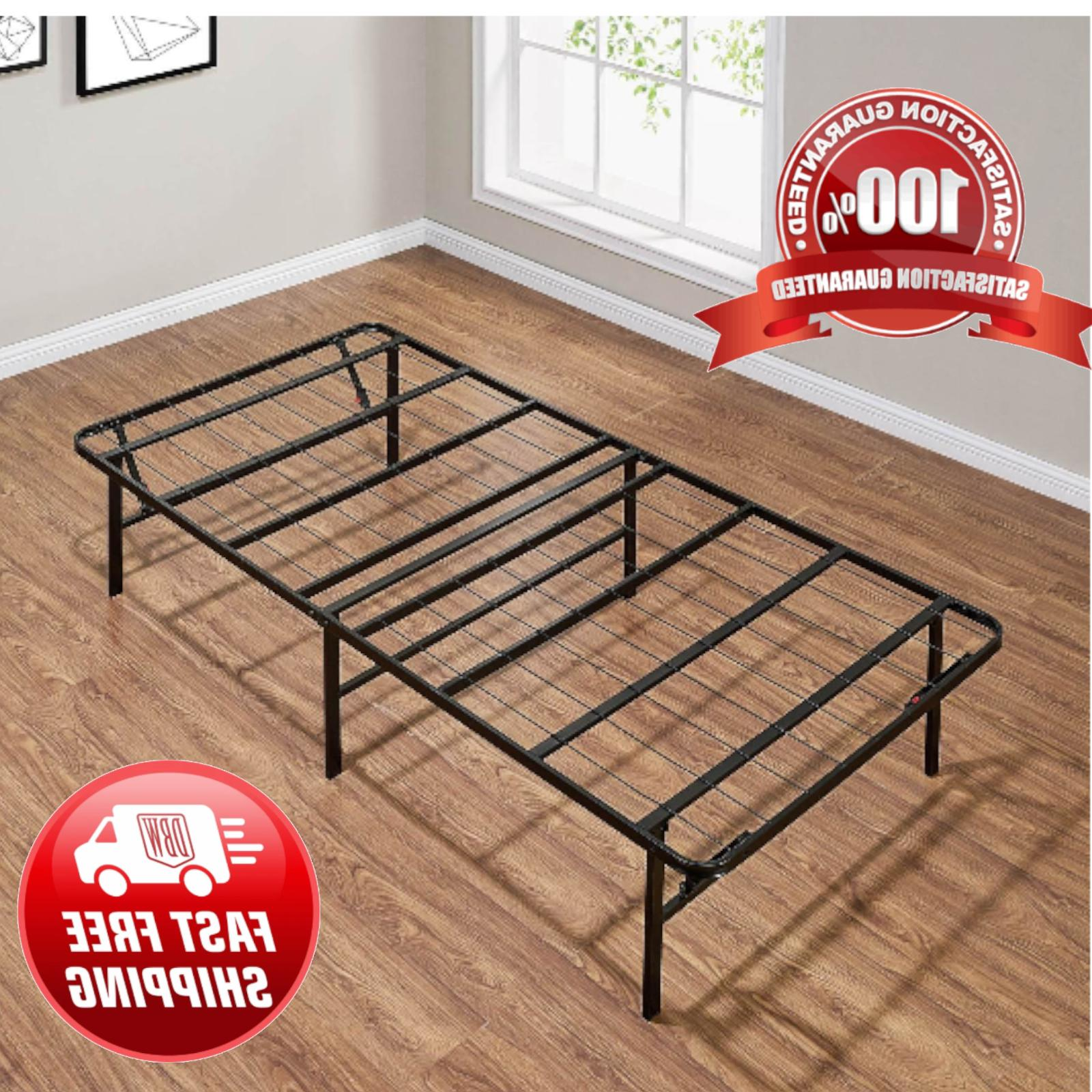 platform twin xl size bed frame 14