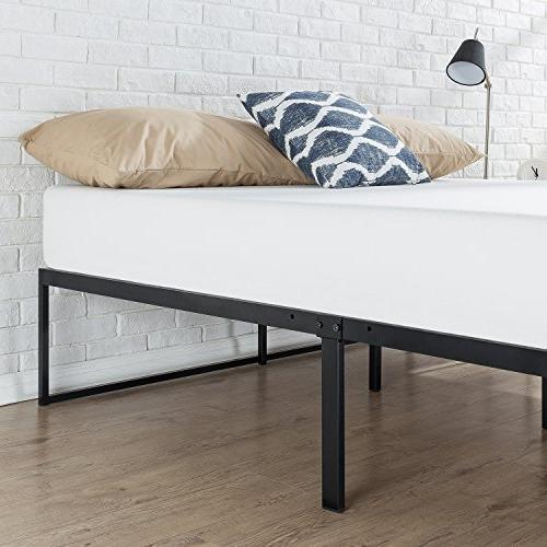 Zinus 14 Inch Bed Frame Foundation No Spring needed Slat Support,