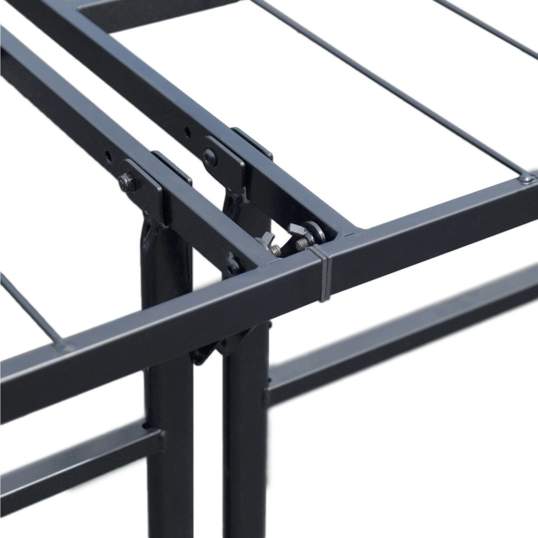 EASYSETUP BiFold Metal Bed Twin Dorm