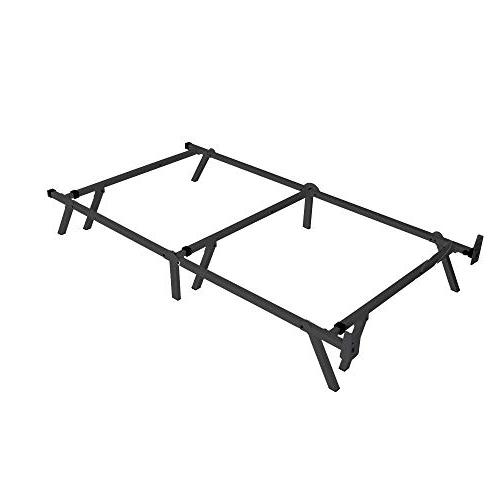 intelliBASE Low Adjustable Box Metal Frame, Twin Full Queen