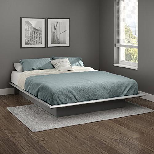queen basics platform bed frame