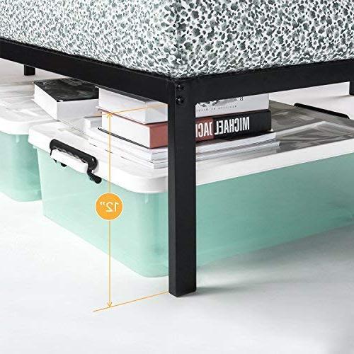 Best Bed - Inch Metal Beds w/Heavy Duty Steel Mattress