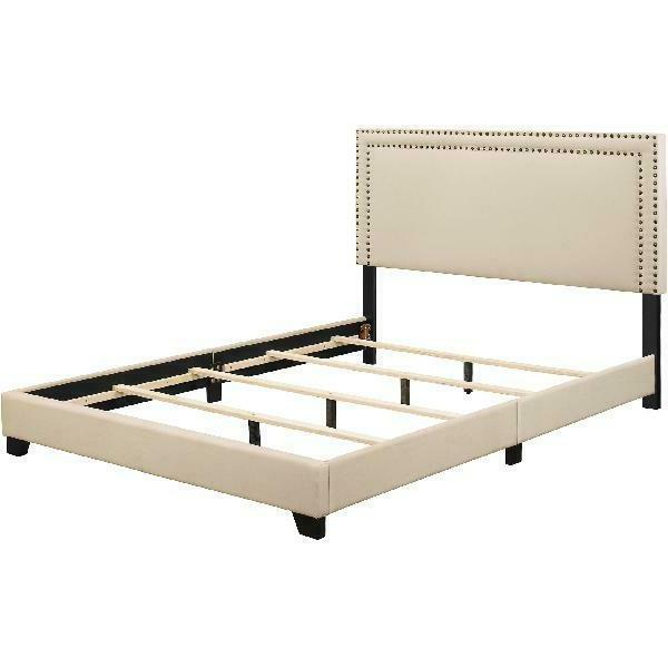 Queen Bed Frame Set Rails Headboard Bedroom Furniture