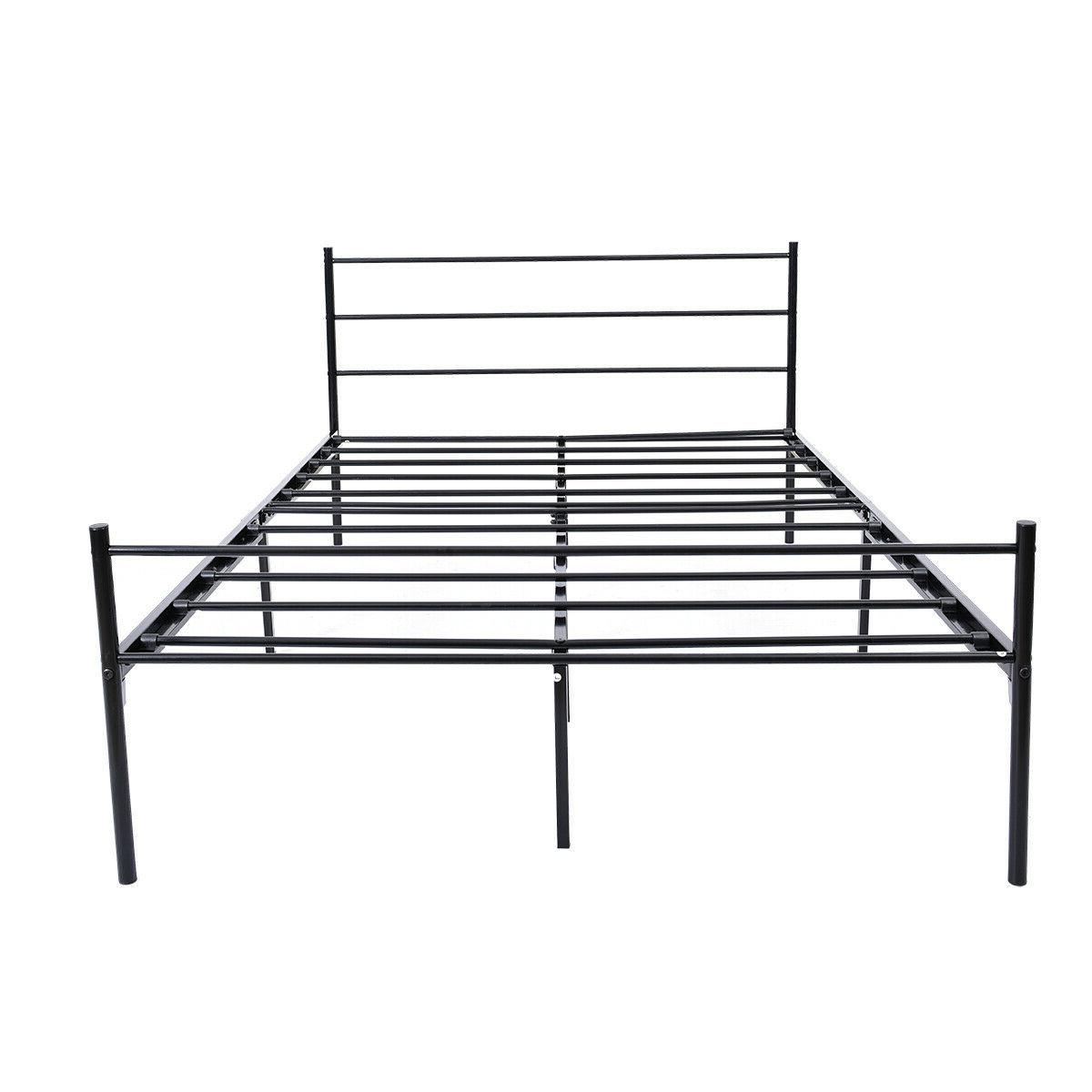 Queen/Full/Size Bed Platform Foundation With Kids