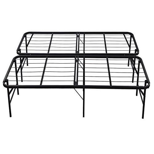 queen platform bed frame steel