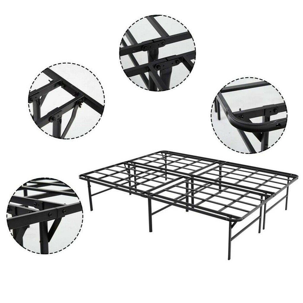 ❤Queen Platform Bed Frame Duty Steel