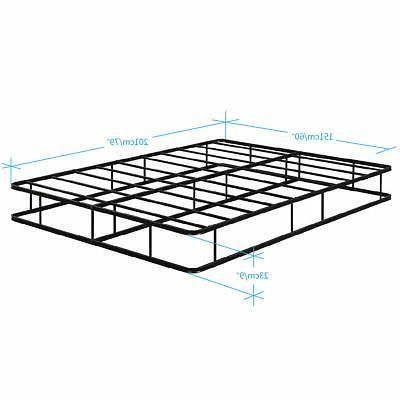 Queen Premium Steel Slat Foundation