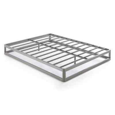 Queen Size 9 Metal Bed Frame, Round Type - Comfort