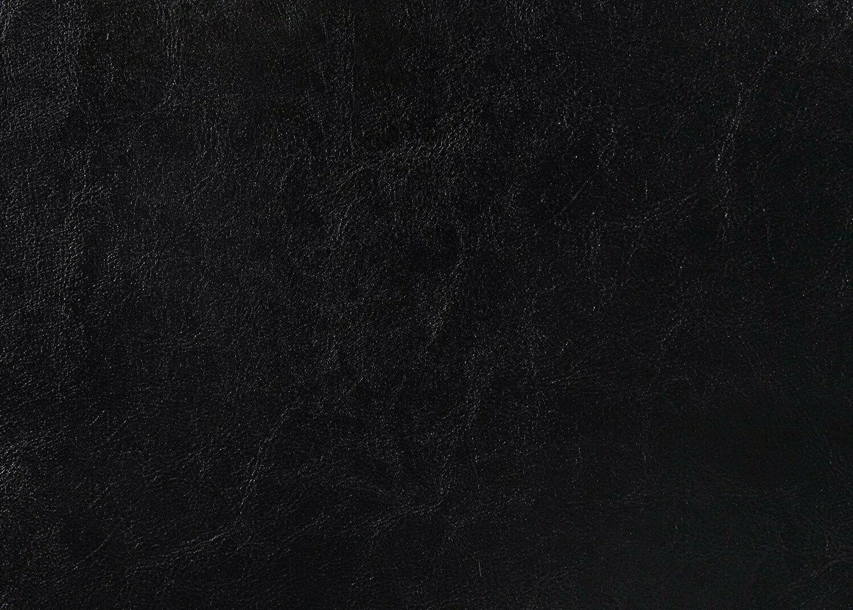 Full Frame Platform Headboard Erin Black Faux leather