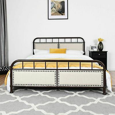 Bed Frame Upholstered