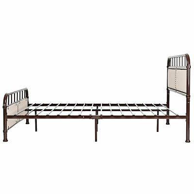 Queen Size Bed Frame Panel Footboard