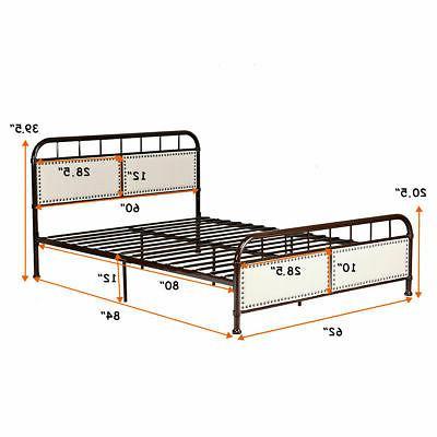 Queen Size Bed Frame Comfort Panel